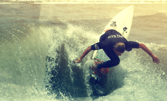 Lucas Madrid surf